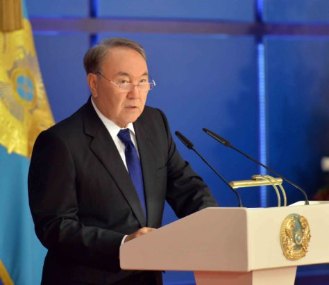 Nasarbajew Astana Botschafter