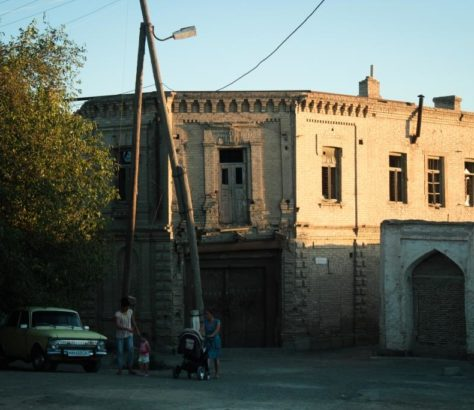 Ruine Buchara Usbekistan