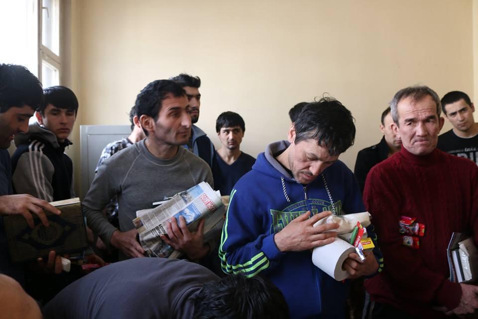 Tasdschikische Migranten in Russsland