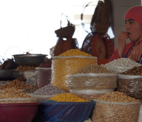 MarktFrau Samarkand