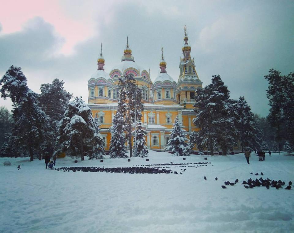 Almaty Kathedrale Kasachstan