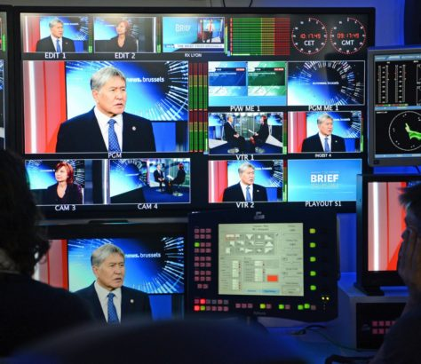 Atambajew Euronews Interview