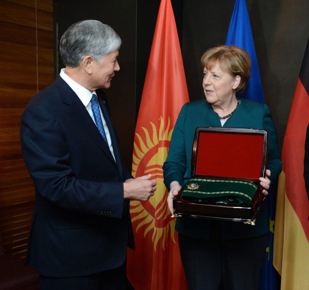Merkel Atambajew Kurmandschan Datka Orden