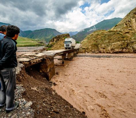 Pandsch Fluss Tadschikistan