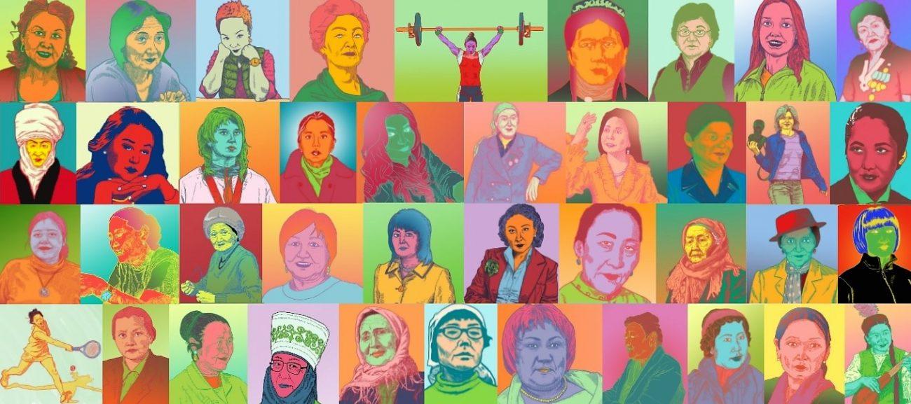 40 starke Frauen aus Kirgistan