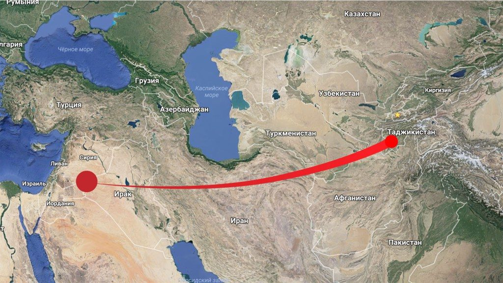 Wind aus Syrien nach Tadschikistan