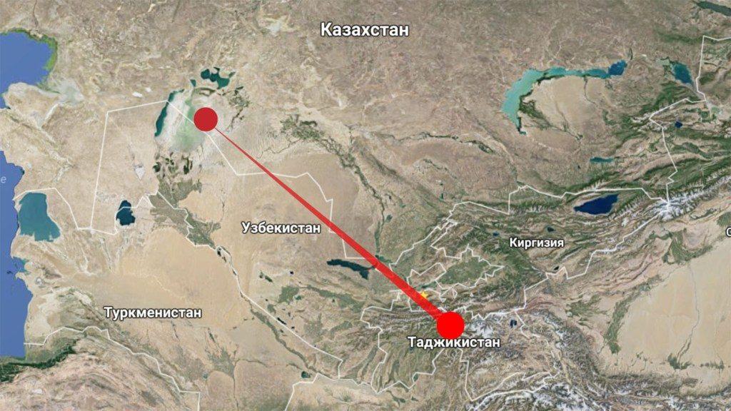Wind vom Aralsee nach Tadschikistan