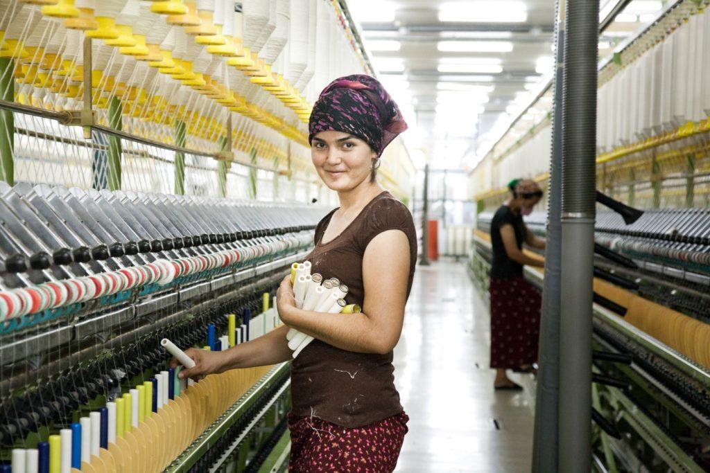 Turkmenistan Aschgabat Textil Industrie