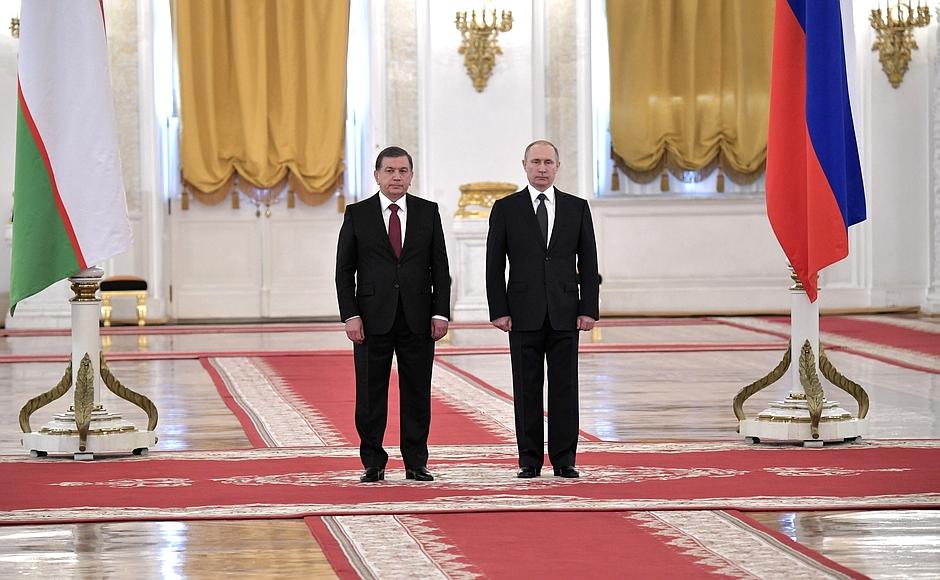Mirsijojew und Putin