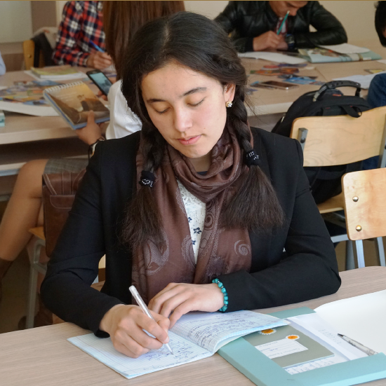 Komila Abdullaeva, Studentin aus Urgench
