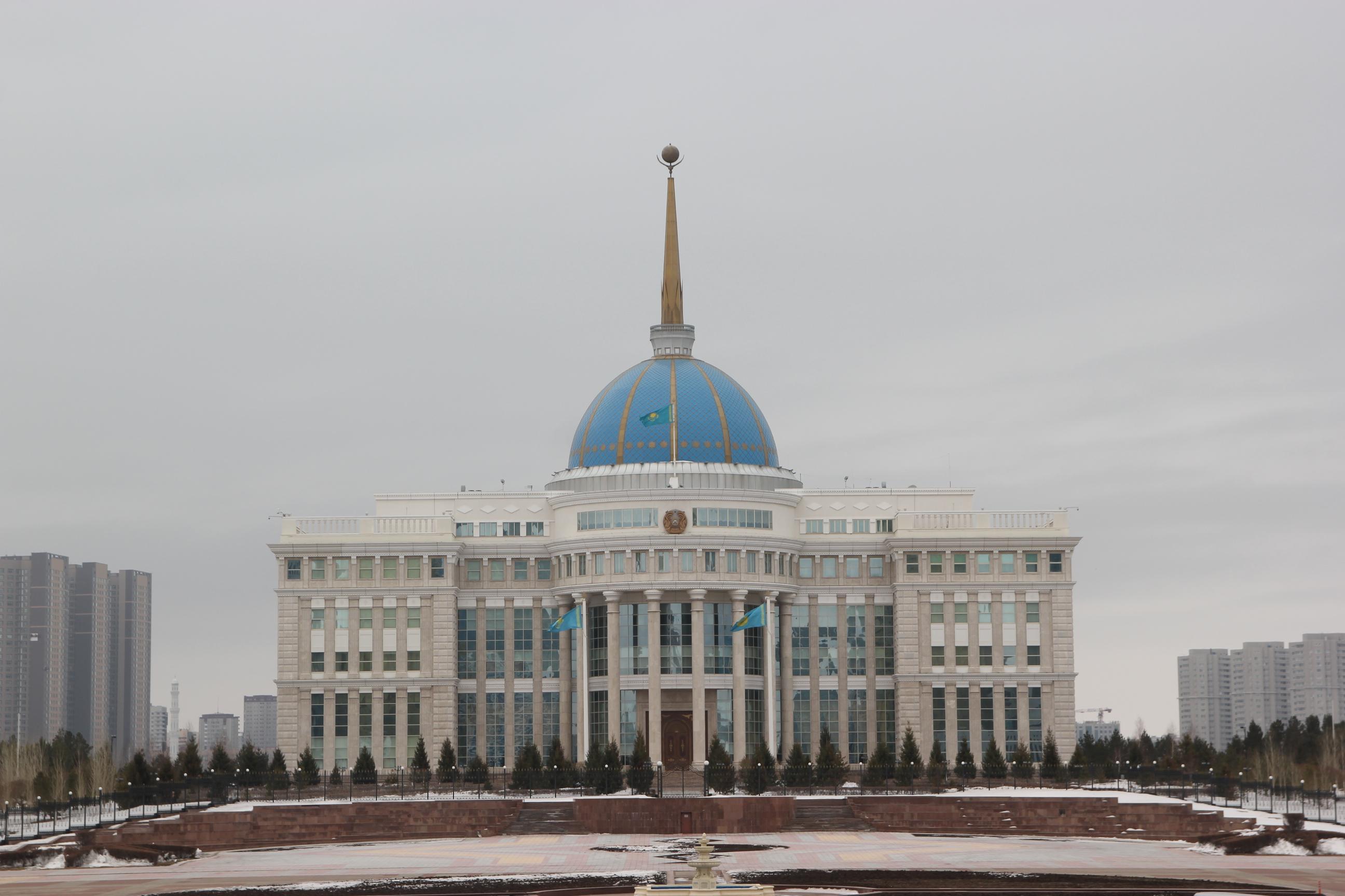 Der Präsidentenpalast in Astana
