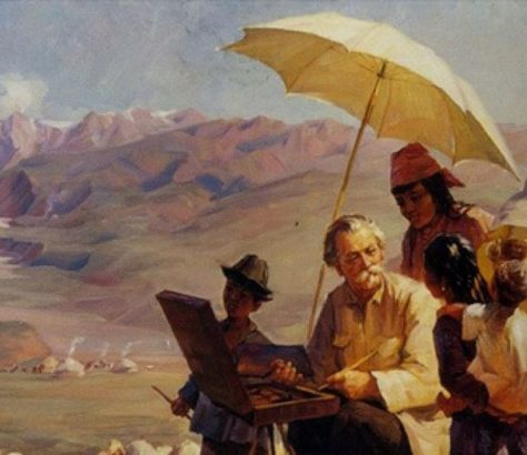 Chludow Kunst Kasachstan