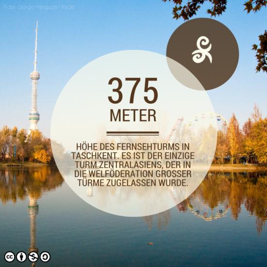Taschkent Usbekistan Fernsehturm Fact