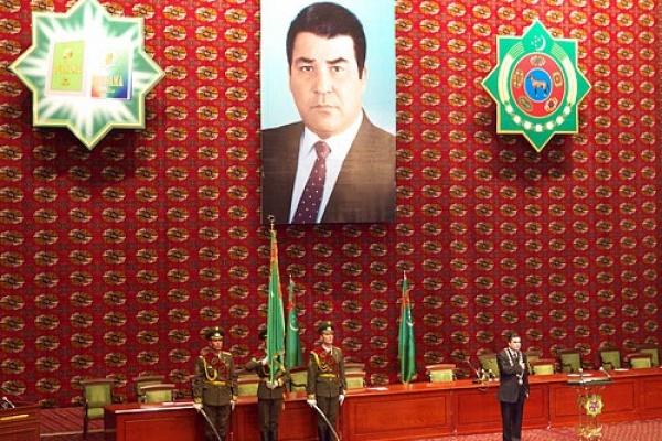 Porträt Gurbanguly Berdimuchammedow