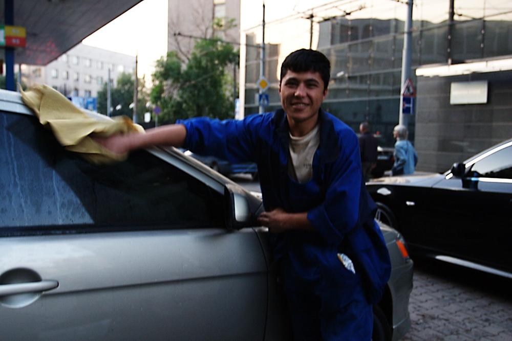 Russland Arbeitsmigranten Arbeiter Tadschikistan