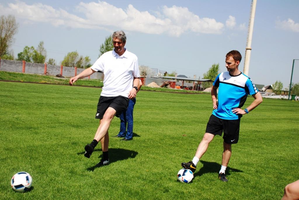 Die Ausbildung von spezialisierten Trainern ist ein integraler Teil des Projekts