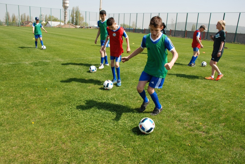 Training Fußball Paralympics