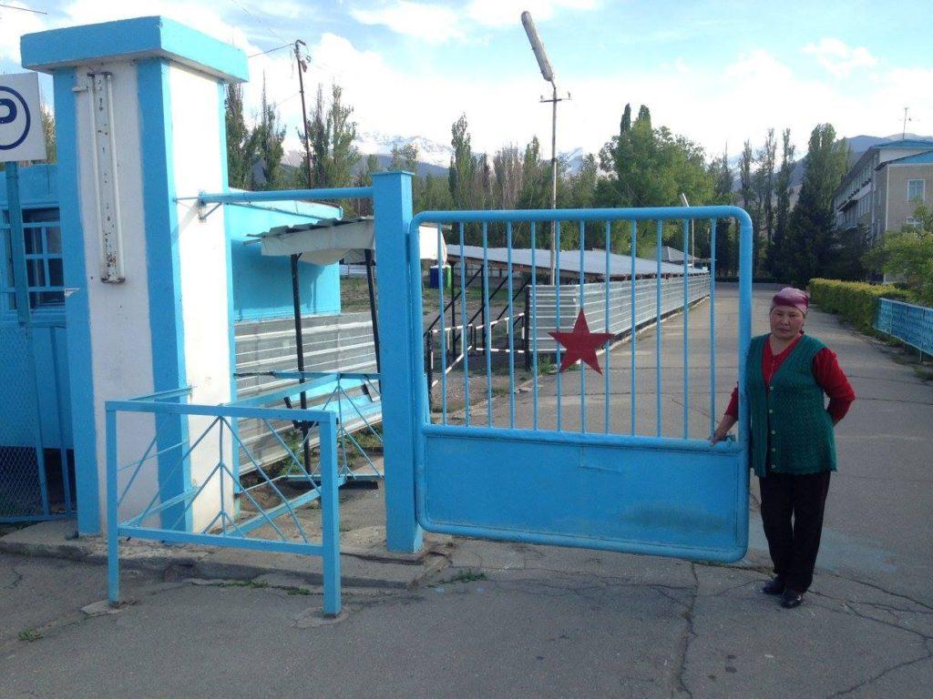 Menschen Kirgistan Schenia Tamga