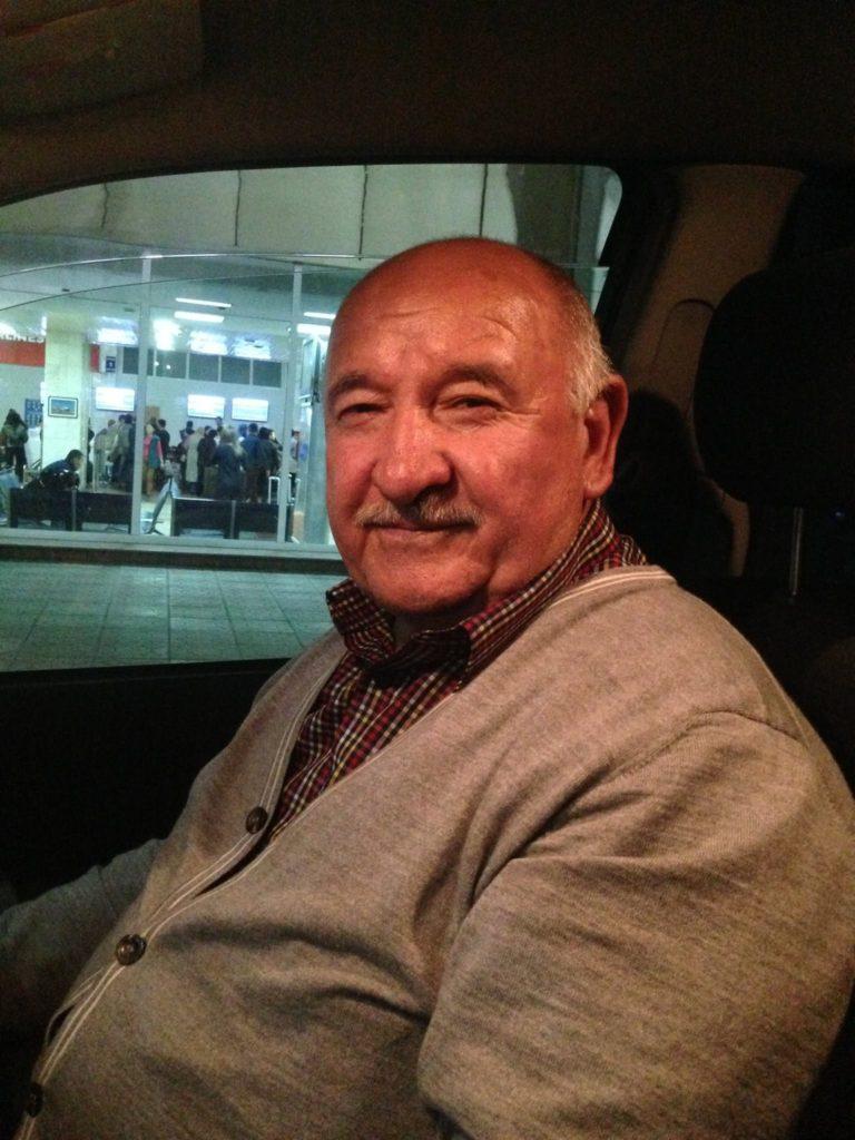 Menschen Kirgistan Papa Taxi Bischkek