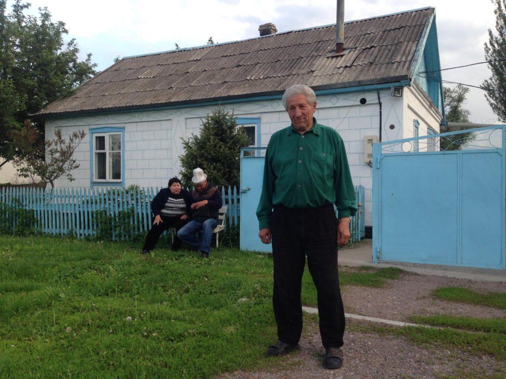 Menschen Kirgistan David Hoffmann Rot Front