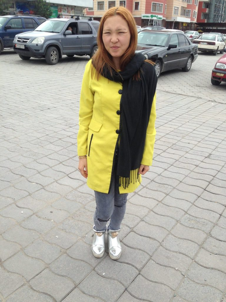Menschen Kirgistan Adriana Bischkek