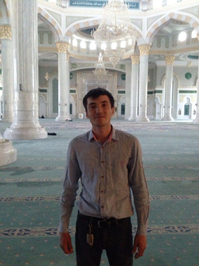 Menschen Kasachstan Arsen Astana