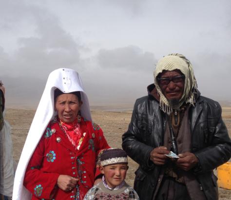 Pamir Afghanistan Kirgisen Familie