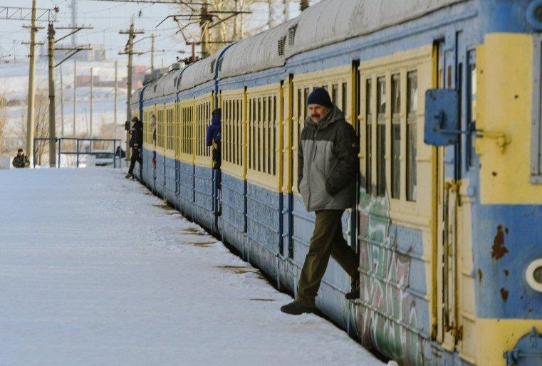 Stepnogor Kasachstan Eisenbahn