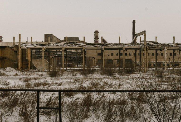 Stepnogor Kasachstan Fabrik Industrie
