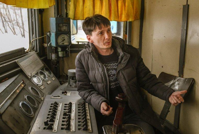 Stepnogor Kasachstan Zugführer