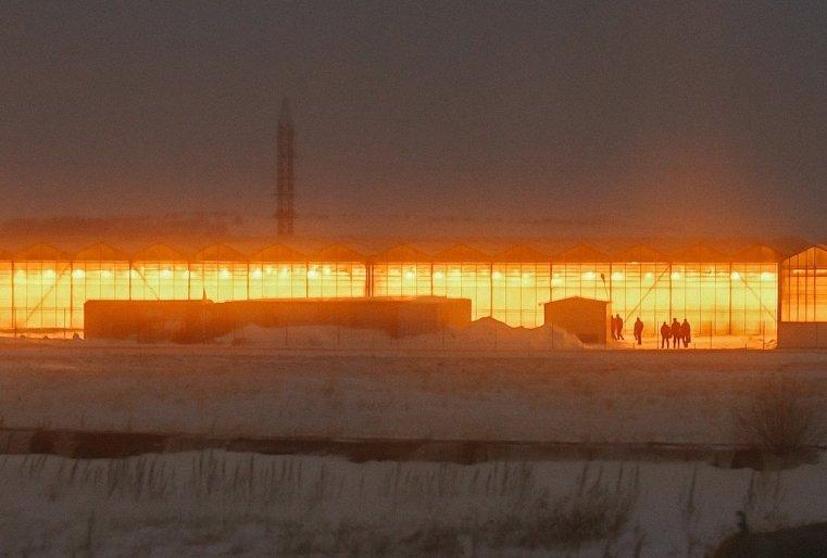 Stepnogor Kasachstan Treibhaus
