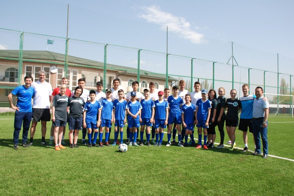 Die Fussballmannschaft