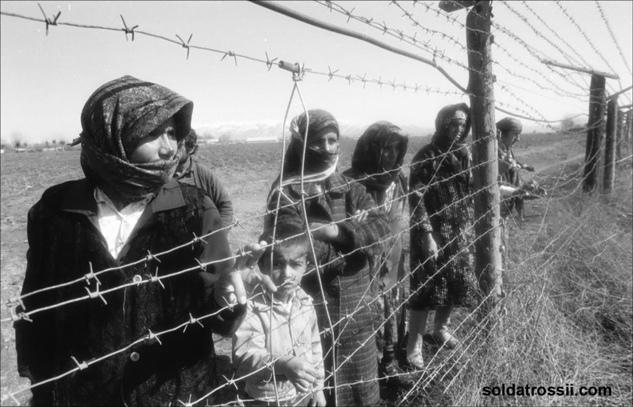 Tadschikistan Bürgerkrieg Flüchtlinge