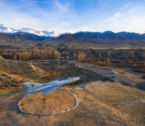 Mig Issyk-Kul Kirgistan