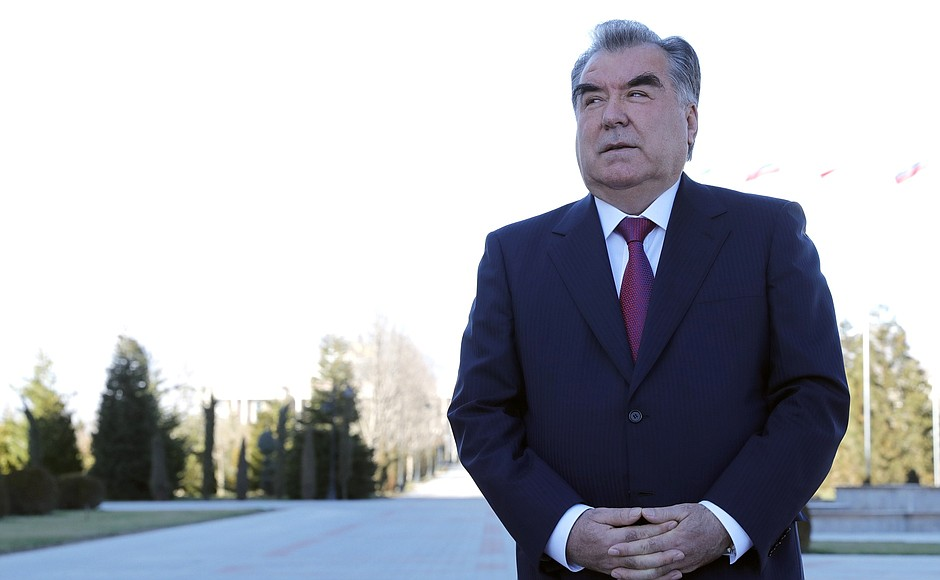 Emomalii Rachmon Duschanbe Tadschikistan