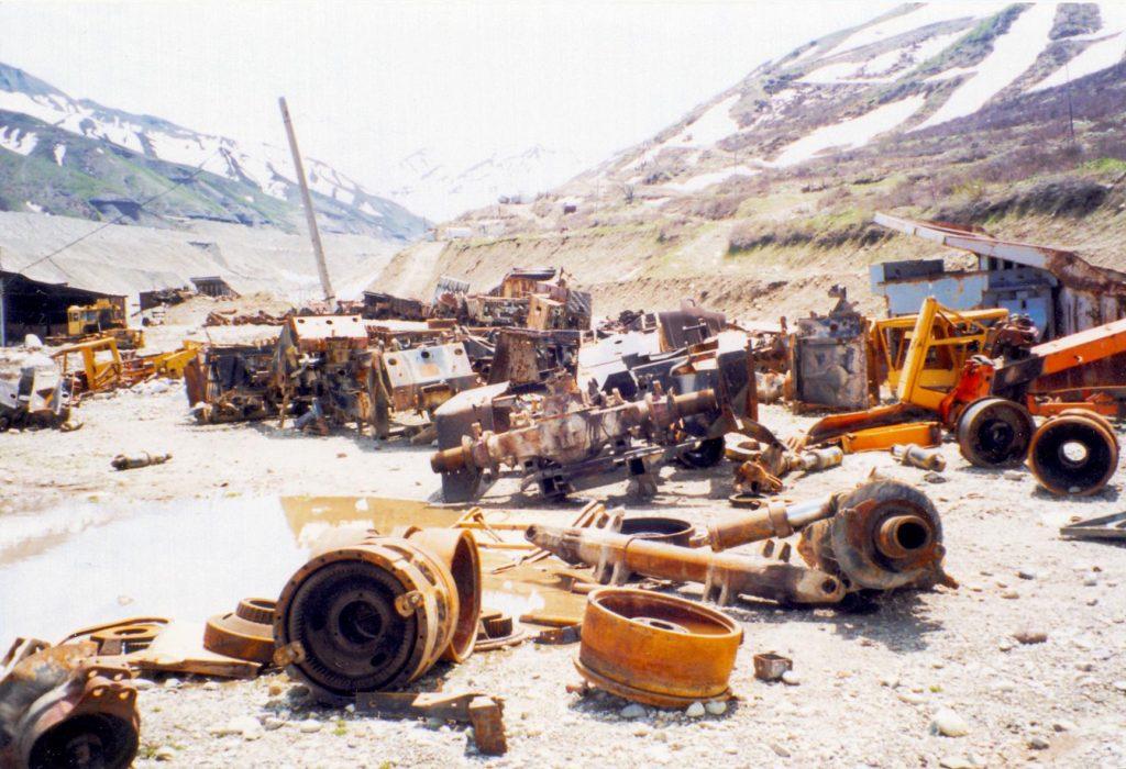 Minen Tadschikistan Bürgerkrieg