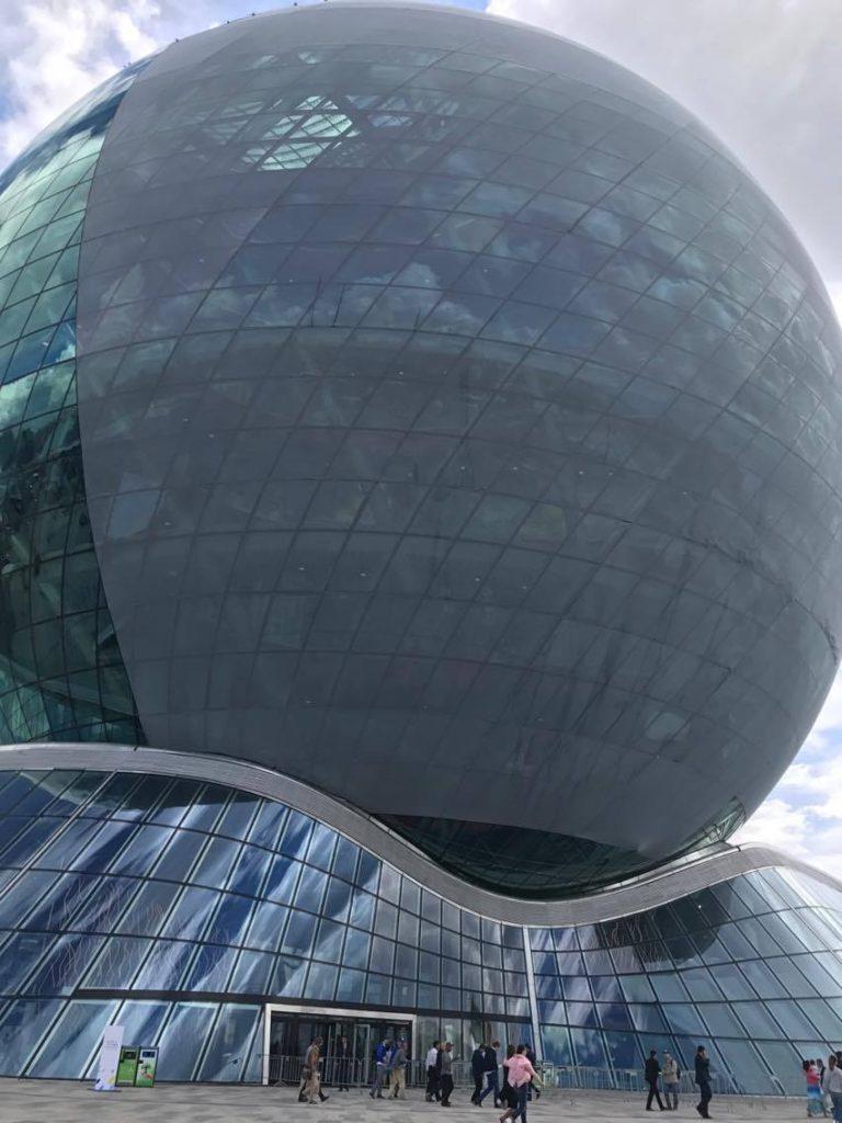 Nur Alem EXPO Kasachstan Astana Wahrzeichen