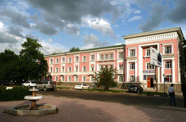 Duschanbe Tadschikistan Wachsch Hotel