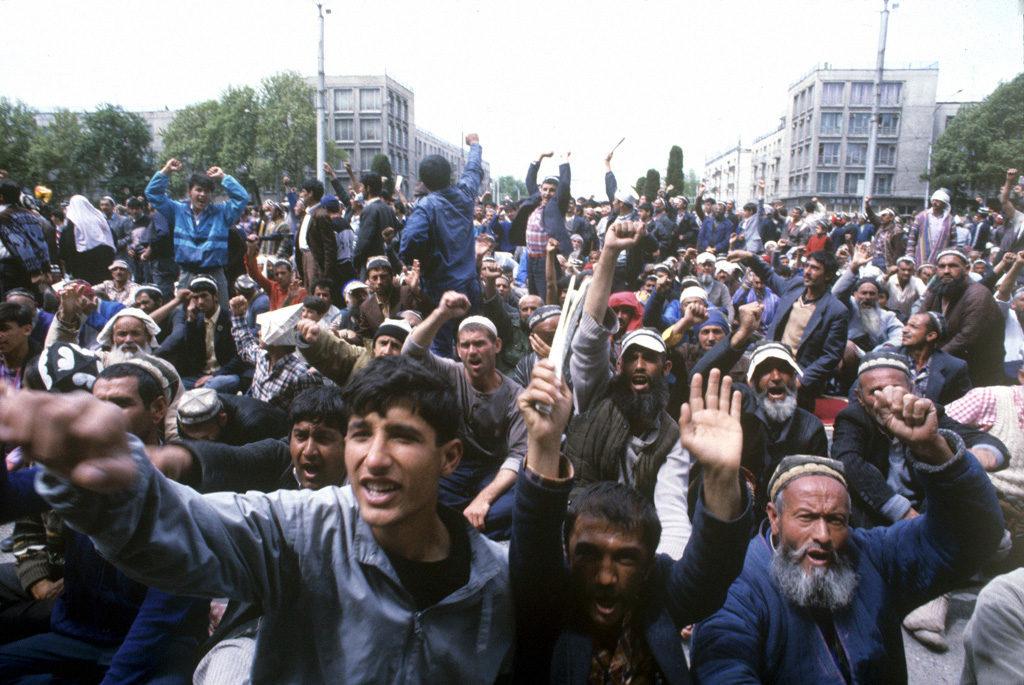 Demonstrationen Tadschikistan Bürgerkrieg