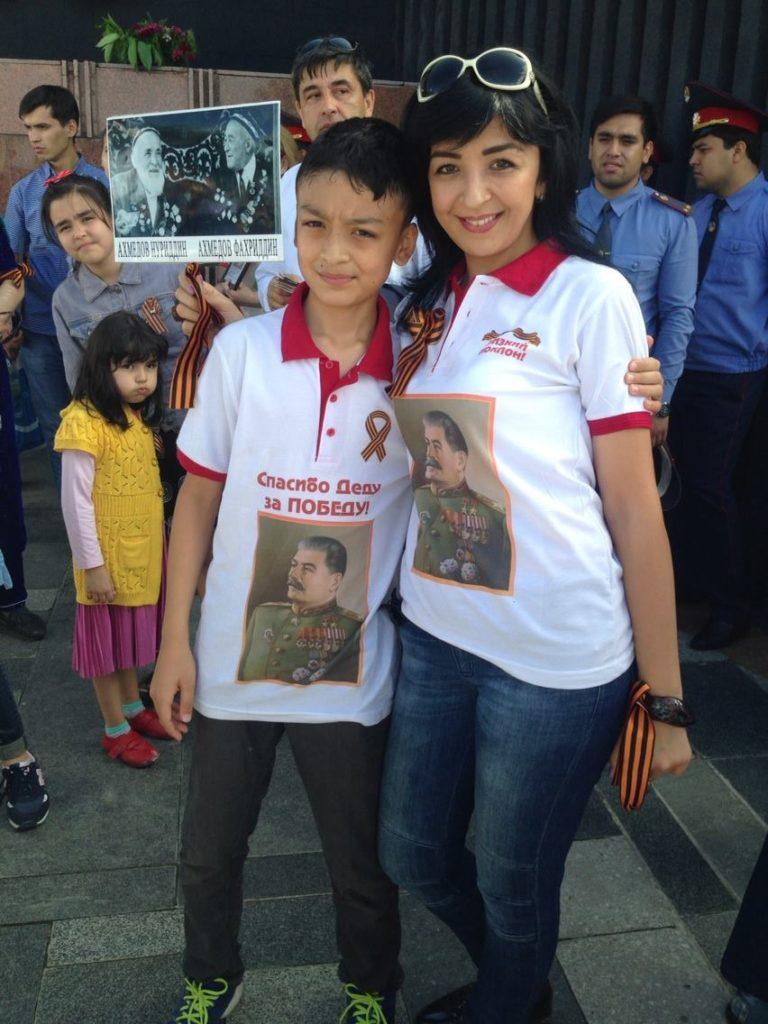 Menschen Zentralasiens Tadschikistan Duschanbe Schenja