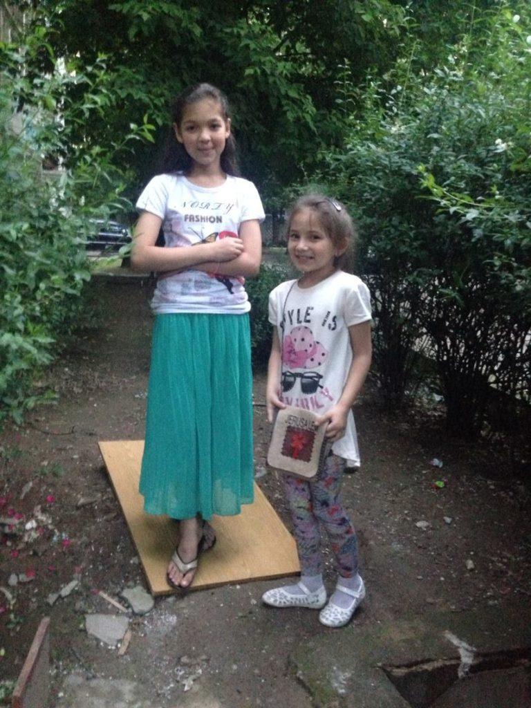 Menschen Zentralasiens Tadschikistan Duschanbe Zamira Nastja
