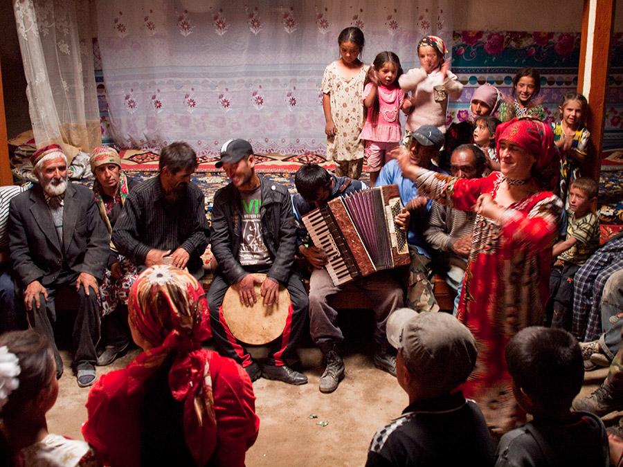 Hochzeit Pamir Tadschikistan Bartang Tal
