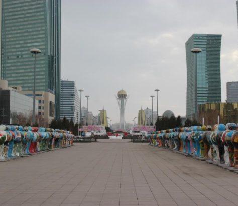 Astana Expo 2017 Kasachstan Statue Land