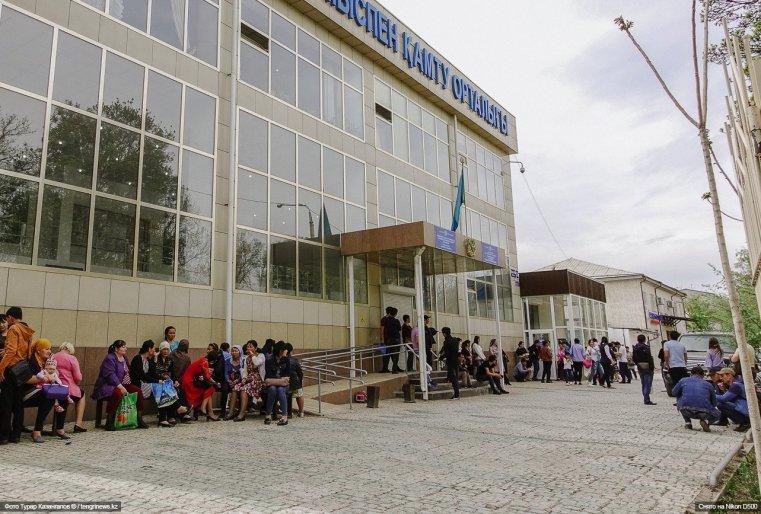Arbeitsamt Schymkent