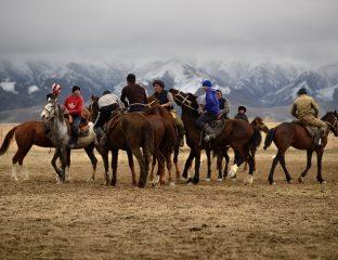 Kök-Böru in Kyzyl-Tuu in Kirgistan