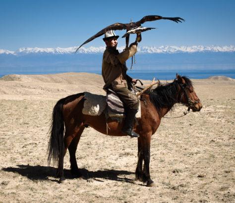 Adlerjagd in Kirgistan