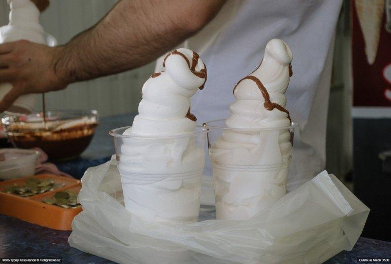 Schymkent Eis