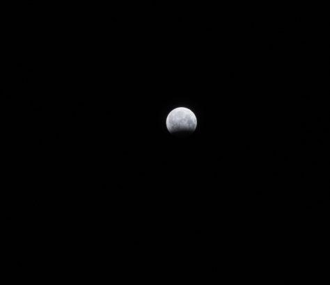 Bishkek Kirgistan Mondfinsternis mon