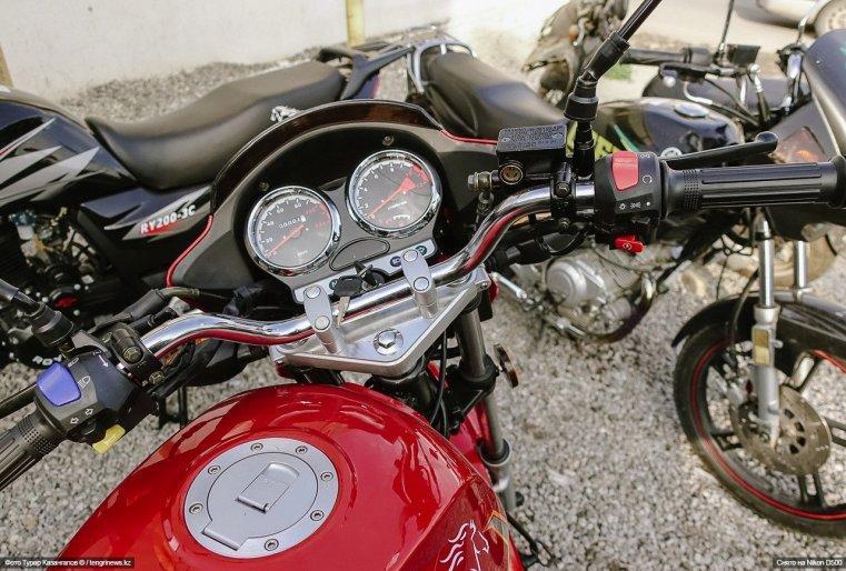 Motorrad Schymkent