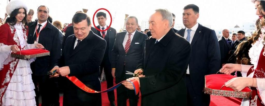 Schwiegersohn Astana Staatsbesuch Usbekistan Kasachstan